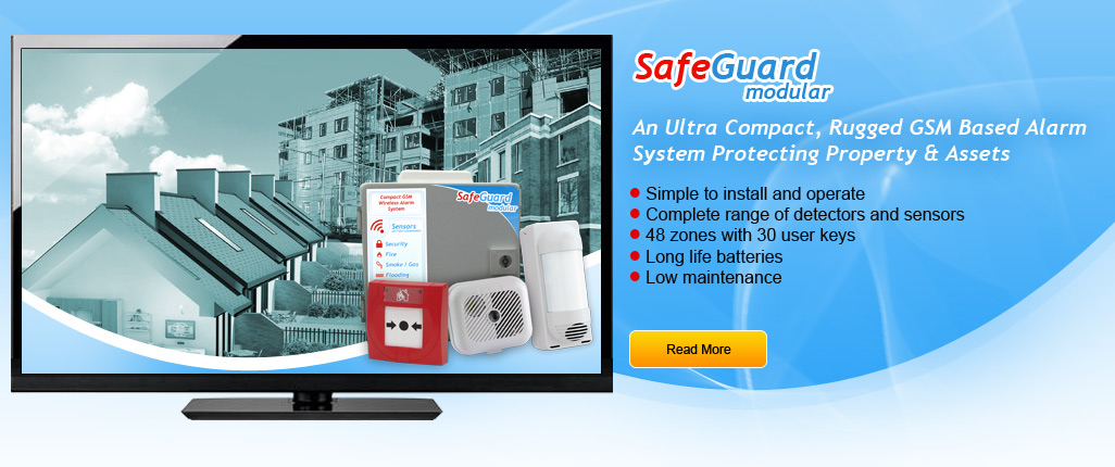 An Ultra Compact, Rugged GSM Based Alarm System Protecting Property & Assets